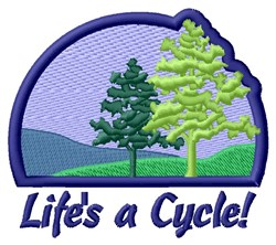 Life Cycle Of Nature embroidery design