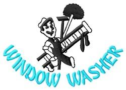 Wndow Washer embroidery design