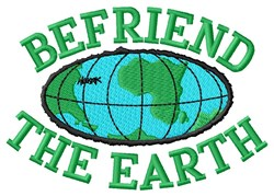 Keep Earth Clean embroidery design