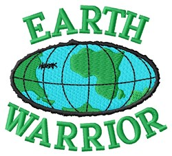 Earth Warrior embroidery design