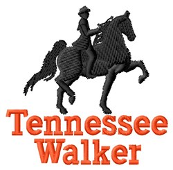 Tennessee Walking Horse embroidery design