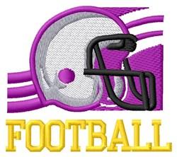 Football Armor embroidery design