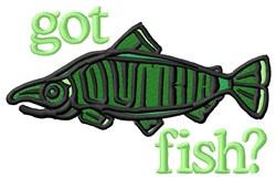 Got A Big Fish embroidery design