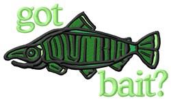 Got Fish embroidery design