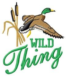 Wild Mallard embroidery design