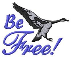 Free Like A Bird embroidery design