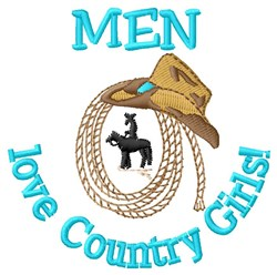 Country Girls embroidery design
