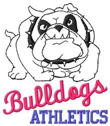 Bulldogs Athletics embroidery design