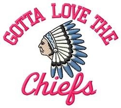 Gotta Love The Chiefs embroidery design
