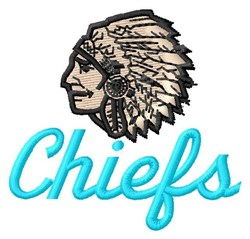 Chiefs embroidery design