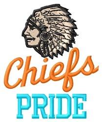 Chiefs Pride embroidery design