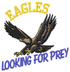 Eagles Prey embroidery design
