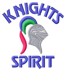 Knights Spirit embroidery design