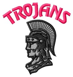Trojans embroidery design