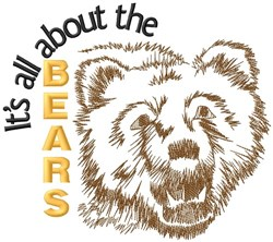 All About The Bears embroidery design