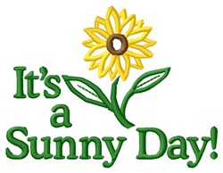 Sunny Day embroidery design