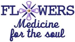 Medicine For Soul embroidery design