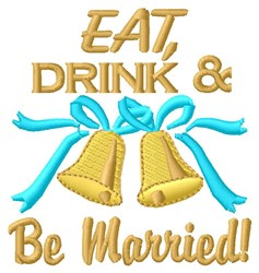 Be Married embroidery design