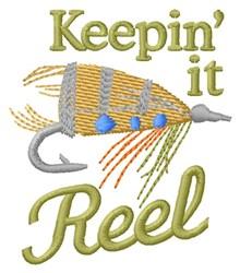 Reel Hook embroidery design
