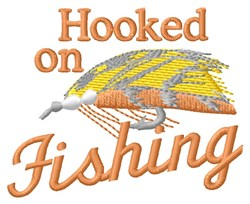 Fishing Hook embroidery design