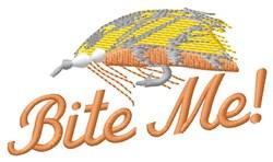 Bite Me Fishhook embroidery design