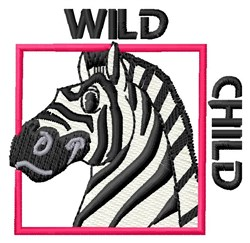 Wild Child embroidery design
