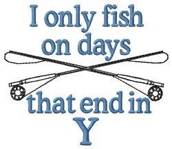 Only Fish embroidery design