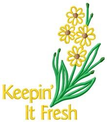 Keep Fresh embroidery design