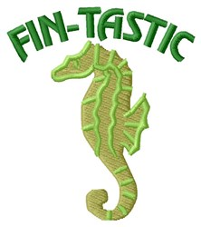 Fin-tastic embroidery design