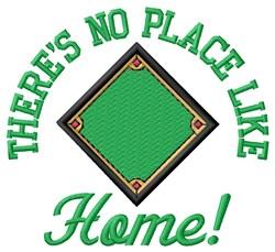 Baseball Diamond Home embroidery design