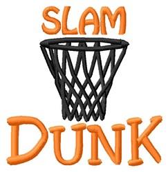Slam Dunk embroidery design