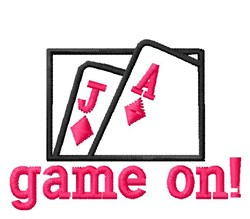 Game On! embroidery design