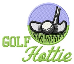 Golf Hottie embroidery design