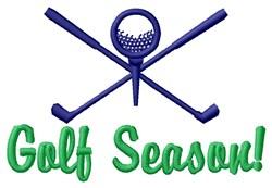 Golf Season! embroidery design