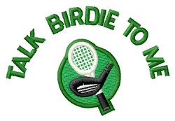 Talk Birdie To Me embroidery design
