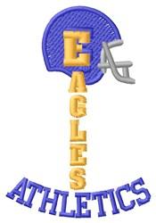 Eagles Athletics embroidery design