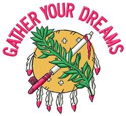 Gather Dreams embroidery design