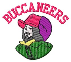 Buccaneers embroidery design