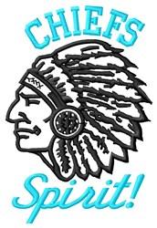 Chiefs Spirit embroidery design