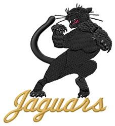 Jaguars embroidery design