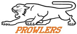 Prowlers embroidery design