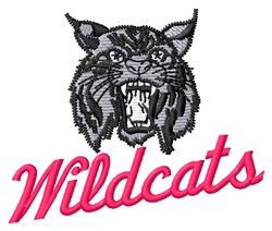 Wildcats embroidery design