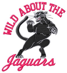 Wild About Jaguars embroidery design