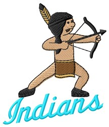 Indians embroidery design