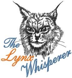 Lynx Whisperer embroidery design