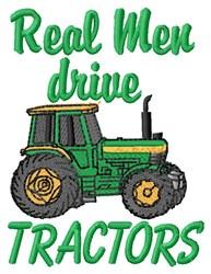 Drive Tractors embroidery design