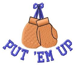 Put Em Up embroidery design