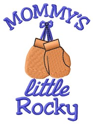 Mommys Rocky embroidery design