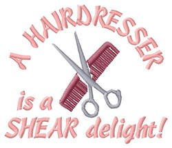 Shear Delight embroidery design