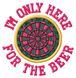 For the Beer embroidery design